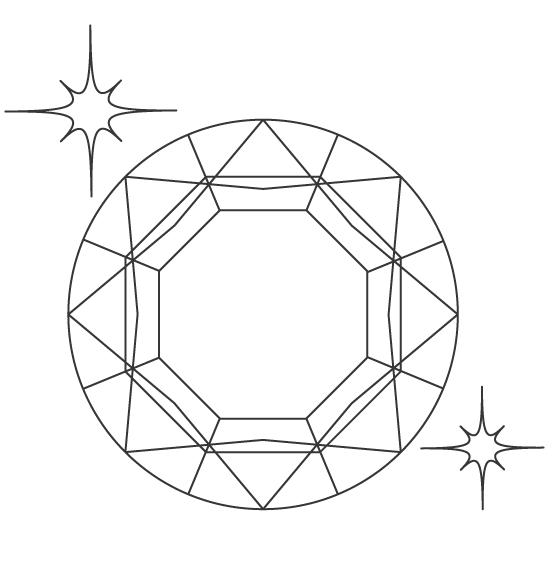宝石のぬりえ02