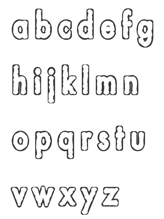アルファベット(小文字)のぬりえイラスト03