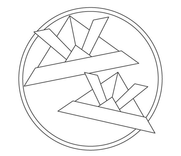 子どもの日・折り紙のカブトのぬりえイラスト